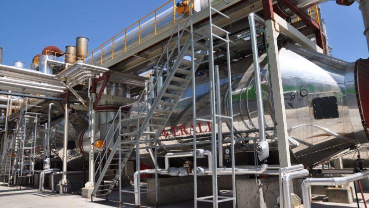 Flame Smoke Pipe Waste Heat Boilers | Eralp Boiler | High Efficiency ...